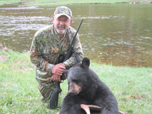 Bill Cooper writer from MO tagged this black bear
