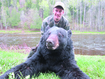Tom Halter from Jersey tagged this black bear