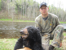 Nic from VT 1st bear ever tagged